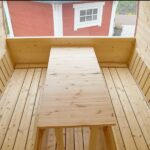 foto 8 5m badstutoenne for 6 pers med omkledningsrom og mulighet for stor seng