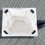 foto 3 utendoers jacuzzi quattro for 8 pers inkludert boble-og hydromassasjesystem