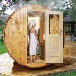 foto 3 3m badstutoenne for 4 pers med omkledningsrom