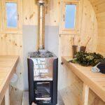foto 5 3m badstutoenne for 4 pers med omkledningsrom