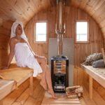 foto 6 4m badstutoenne for 8 pers med omkledningsrom