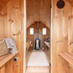 foto 7 4m badstutoenne for 8 pers med omkledningsrom